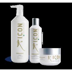champu organic Litro + acondicionador 250 ml+ tratamiento organic