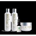 Champu organic 250 + Acondicionador 250 + Tratamiento organic + CBD oil